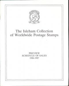 The Isleham Collection of Worldwide Postage Stamps: Previ...