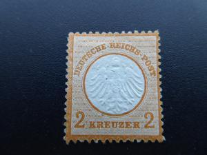 German 1872  Sc.#8  unused  Small shield