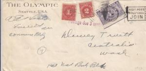 1932, Seattle to Centralia, WA, Special Delivery, See Remark (14435)