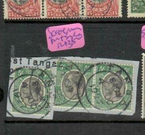 TANGANYIKA  (P2305B)  KGV  5C PR+ SINGLE  PIECE TANGA  CDS  VFU  SG 94