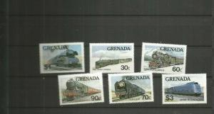 GRENADA TRAINS MNH