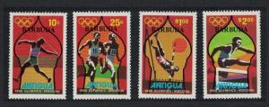 Barbuda Olympic Games Moscow 4v SG#489-492