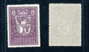 [56111] Liechtenstein 1935 Coat of arms  MNH Original Gum