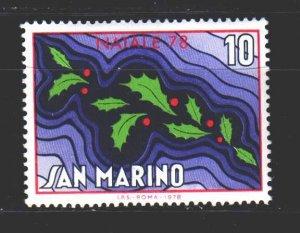 San Marino. 1978. 1169. Christmas. MNH.