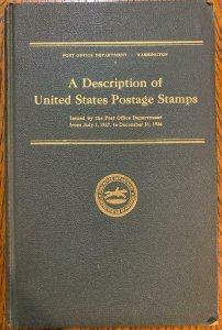 P.O. Department 1937 of US Postage Stamps from 1847-1936- Stamp Philately Book