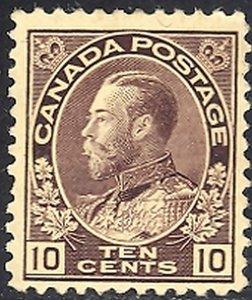 Canada #116    Mint lightly hinged  -  Lakeshore Philatelics