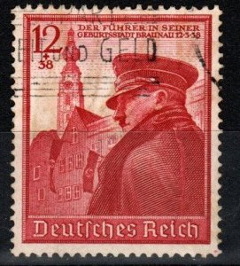 Germany #B137  F-VF Used CV $4.50 (X8496)