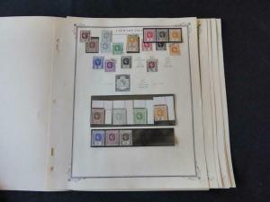 Leeward Islands 1905-1954 Mint/Used Many Vars Stamp Collection