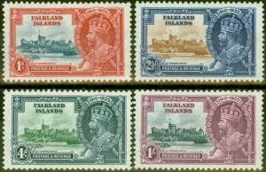 Falkland Islands 1935 Jubilee set of 4 SG139-142 Fine Mtd Mint
