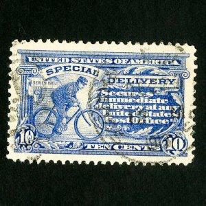 US Stamps # E8 Superb Rare used gem