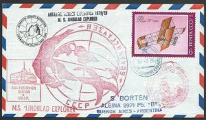 RUSSIA ANTARCTIC 1976 MS LINDBLAD EXPLORER cover...........................11540