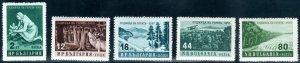 Bulgaria  #977-981  Mint NH CV $2.30