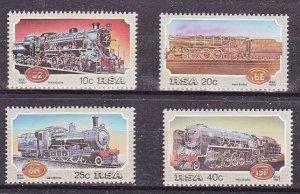 South Africa MNH 614-7 Steam Locomotives CHOO!!! CHOO!!!!!