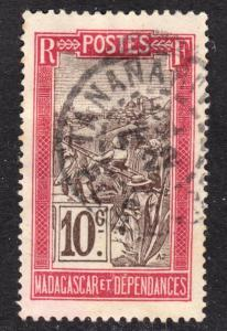Madagascar Scott 84 F to VF used with a beautiful SON cds. Inventory # 2