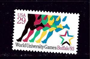 U.S. 2748 MNH 1993 World University Games