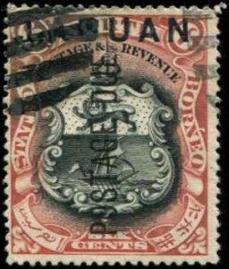 Labuan SC# J5 Postage Due 6c used