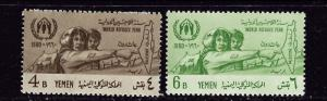 Yemen 96-97 Hinged 1960 World Refugee Year