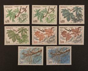 Monaco 1980 #1205//1219 Short Set, MNH, CV $8.45
