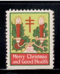 1925 Red Cross Christmas Seal - I Combine S/H