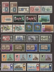 STAMP STATION PERTH St Helena #Selection of 30 MNH Stamps