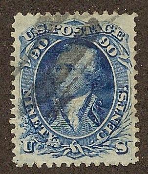 101 Used, XF, 90c. Washington, PF Certificate, scv: $2,250