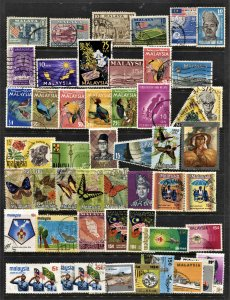 STAMP STATION PERTH Malaysia #49 Used Selection - Unchecked