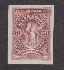 Salvador Sc 45 proof on India Paper in issued color, fresh, bright, VF.