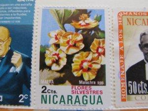 Nicaragua 1974 2c fine mh* stamp A11P11F63
