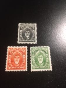 Zanzibar sc 230-232 MHR