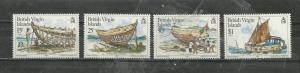 British Virgin Islands # 450-453