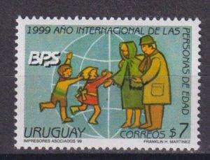 Uruguay 1999 International Year of the Elderly  (MNH)  - Holidays