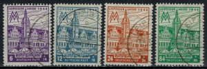 Germany - Russian Zone - West Saxony - Scott 14NB13-14NB16