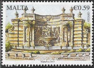Malta 1504 Used - Fountains - San Anton Gardens, Attard