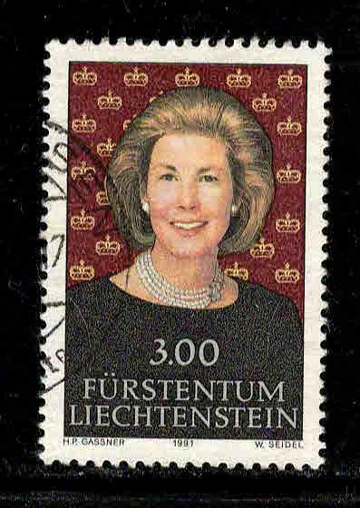 Liechtenstein # 967 ~ Used, HMR ~ 3.75