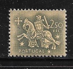 Portugal #771   2.50e  Kight on Horseback (MLH ) CV $2.00
