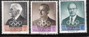 San Marino Olympic officials # 427 428 429