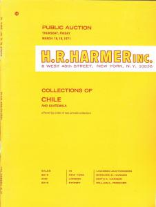 HR Harmer: Sale # 2015-2016  -  Collections of Chile and ...
