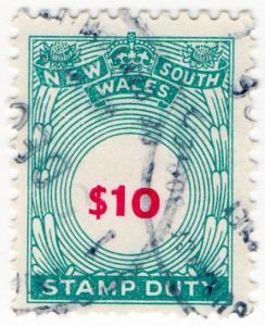 (I.B) Australia - NSW Revenue : Stamp Duty $10