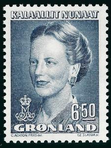 Nice Greenland Slania #228 Queen Margrethe MNH VF...Kalaallit is Hot now!