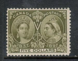 Canada #65 Mint Fine Full Original Gum Lightly Hinged