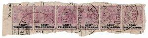 (I.B) QV Telegraphs : Army Telegraphs 1d (Modder Military - Boer War)