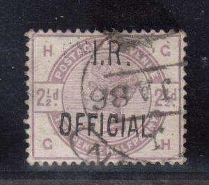 Great Britain #O5 VF Used Dated