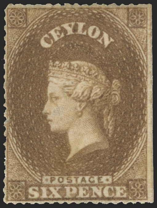 Ceylon Scott 20A Gibbons 23 Mint Stamp