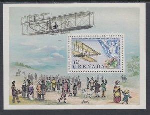 Grenada 894 Airplane Souvenir Sheet MNH VF
