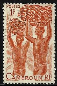 Cameroun 1946 Scott# 310 Used