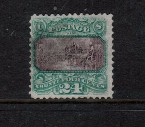 USA #120 Used Fine Lightly Cancelled