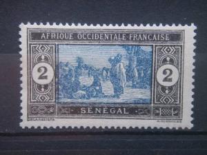 SENEGAL, 1914, MH 2c, Scott 80