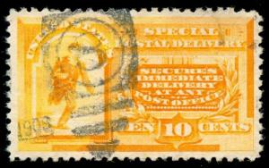 momen: US Stamps #E3 Used XF