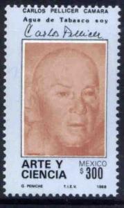 MEXICO 1544, Poet Carlos Pellicer Camara. MINT, NH. F-VF.