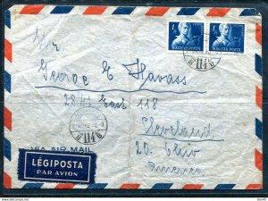Hungary 1930 Cover to USA 11468